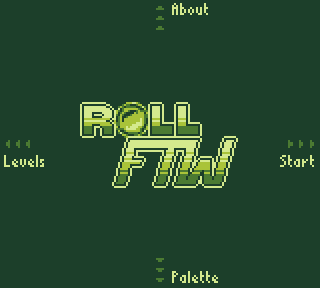 RollFTW - title screen